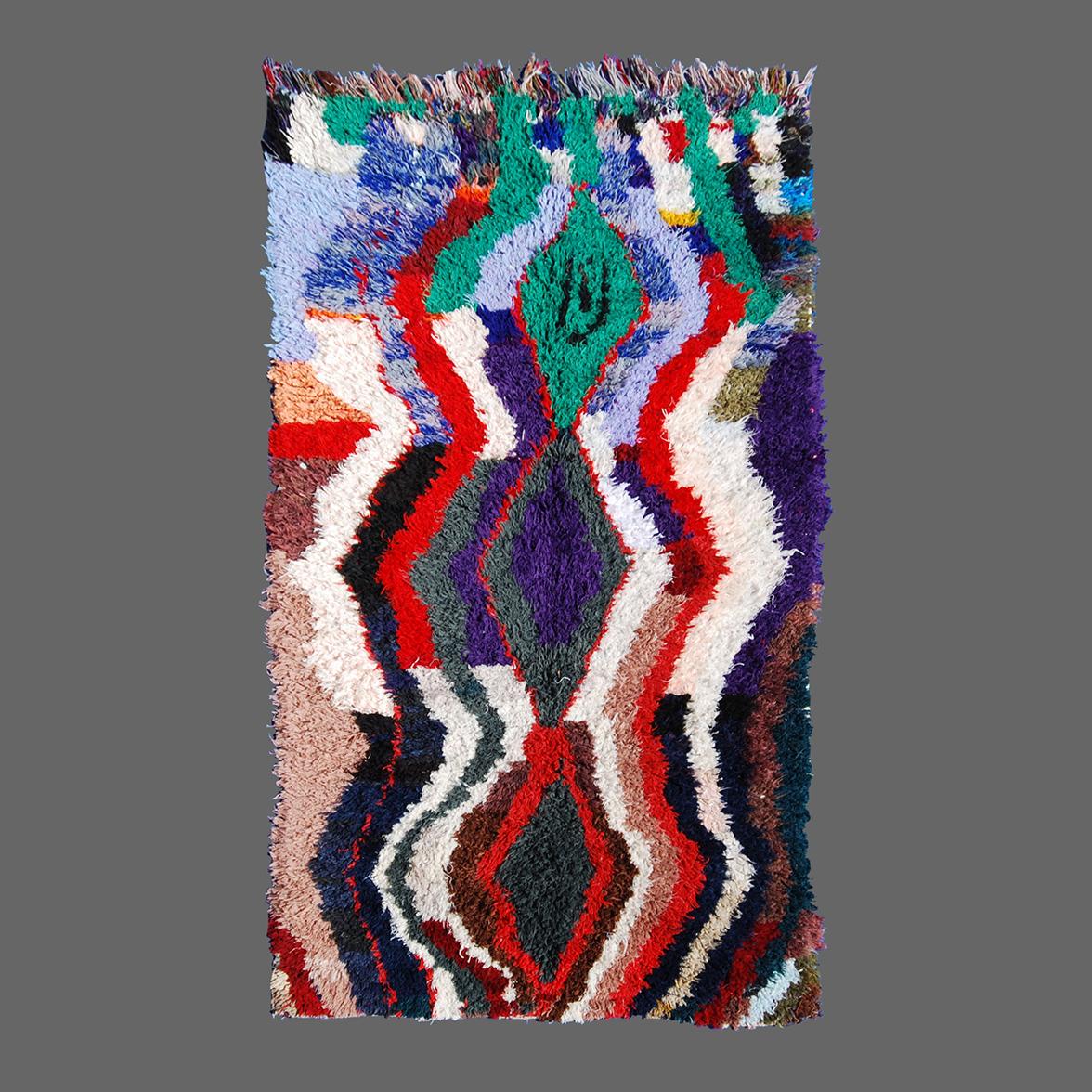 Boucherouite Tapis tapis boucherouite | secret berbère