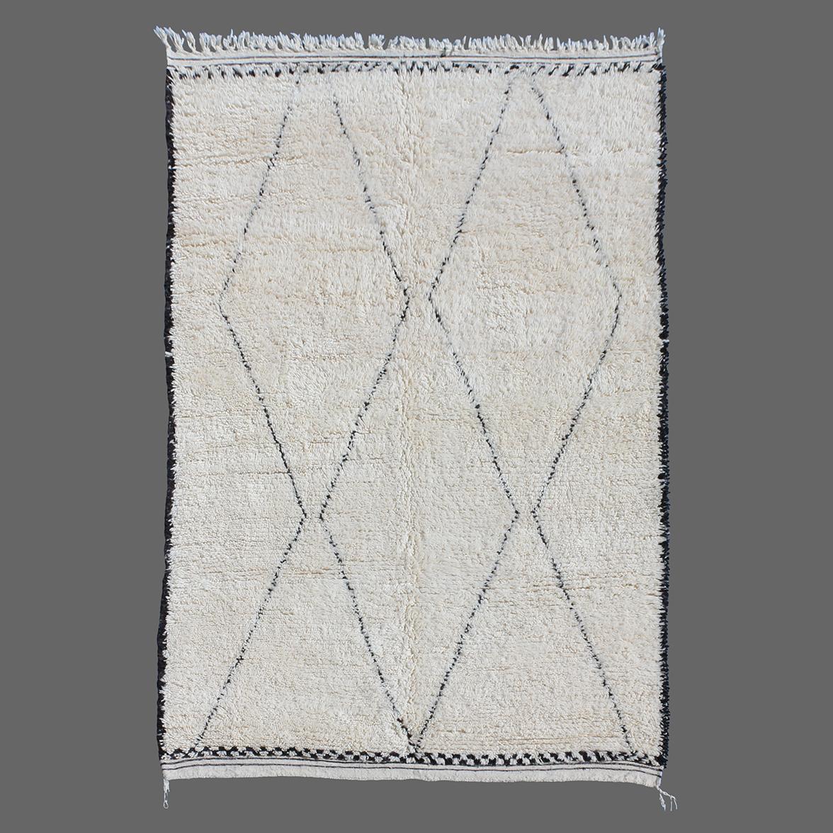 tapis de beni ouarain - Tapis Beni Ouarain