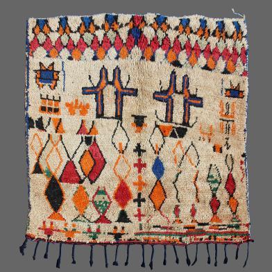Tapis De Azilal Secret Berbere