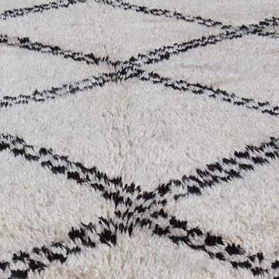 Tapis de Béni Ouarain, tapis berbere