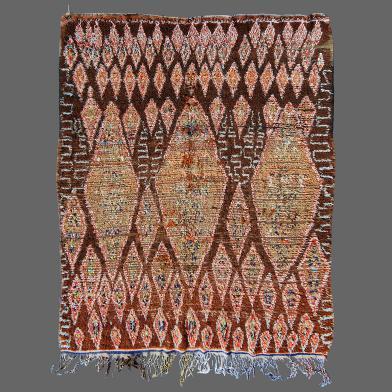Boujad antique rug, berber rug