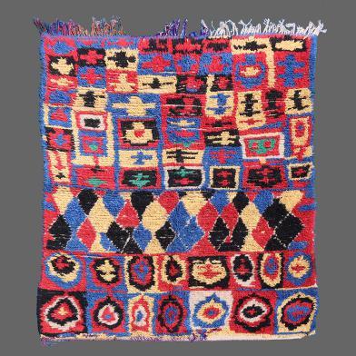 Azilal vintage rug, berber rug