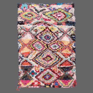 Boucherouite Tapis tapis de boucherouite | secret berbère