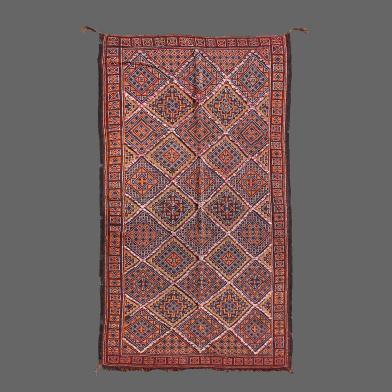 tapis berbere ancien de Zaiane