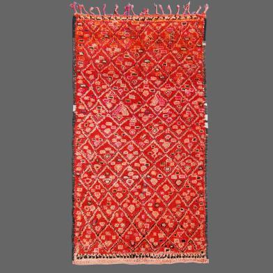 Imaginez-vous  l´impact merveilleux que peut avoir ce tapis de Zaiane dans un couloir.