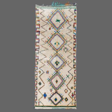 Tapis de Azilal, tapis berbère