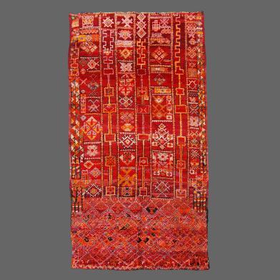 Beni M'Guild Rug, Berber rug