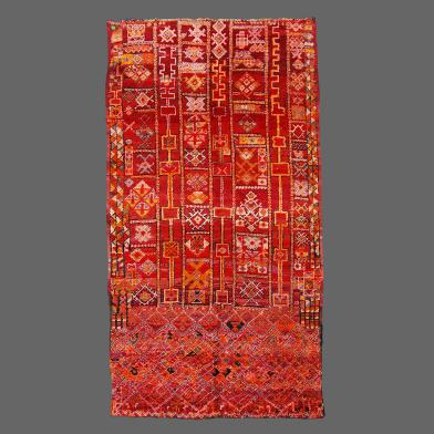Tapis de Béni M'Guild, tapis Berbère