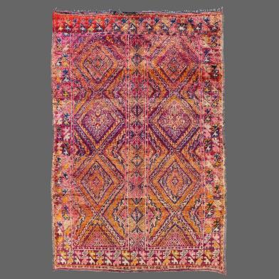 Tapis de Zaïane Ancien, Vintage Béni Zaïane rug