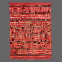 Luxury Talsint vintage rug, Berber rug