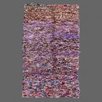 Boucherouite vintage rug, berber rug