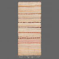 A fine example of a vintage Hambel style carpet made by the Beni Ouarain tribe.