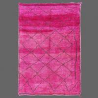 Nous adorons les tapis de Beni M´Guild pour leurs teintes brillantes.