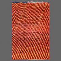 A los tejedores bereberes le encantan hacer alfombras que deslumbran con un patron fascinante. Pertenece a Beni M´Rirt