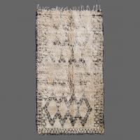 Vintage Rug, Beni Ouarain Rug Berber Rug