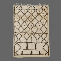 Tapis Berbere, Tapis de Beni Ouarain Vintage