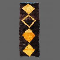Boucherouite Rug, Berber Rug, Runner rug