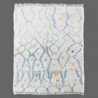 apis berbère, Tapis Berbère teinture végétale, tapis bio, Tais bleu