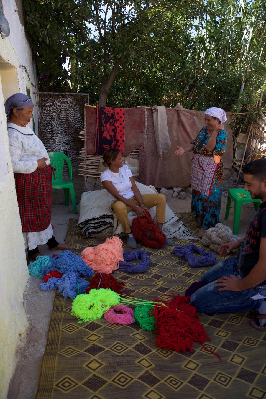 secret berbere projets avec les femmes Berbères.