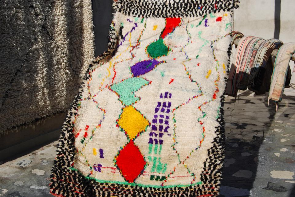 tapis volant de chez secret berbere
