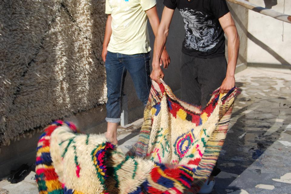 le geste professionnel de chez secret berbere