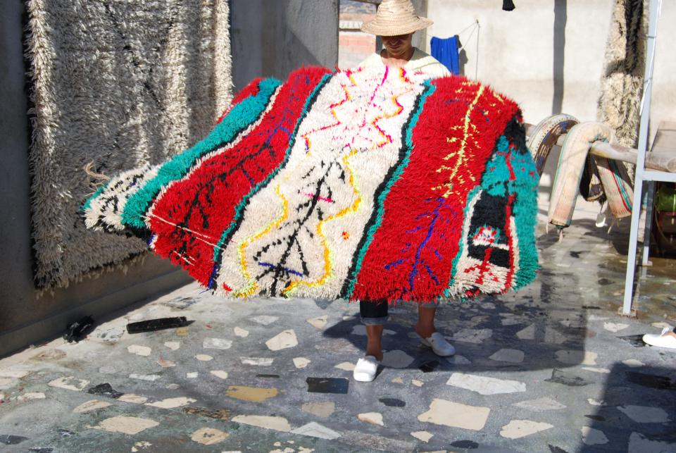 tapis volant berbere secret berbere