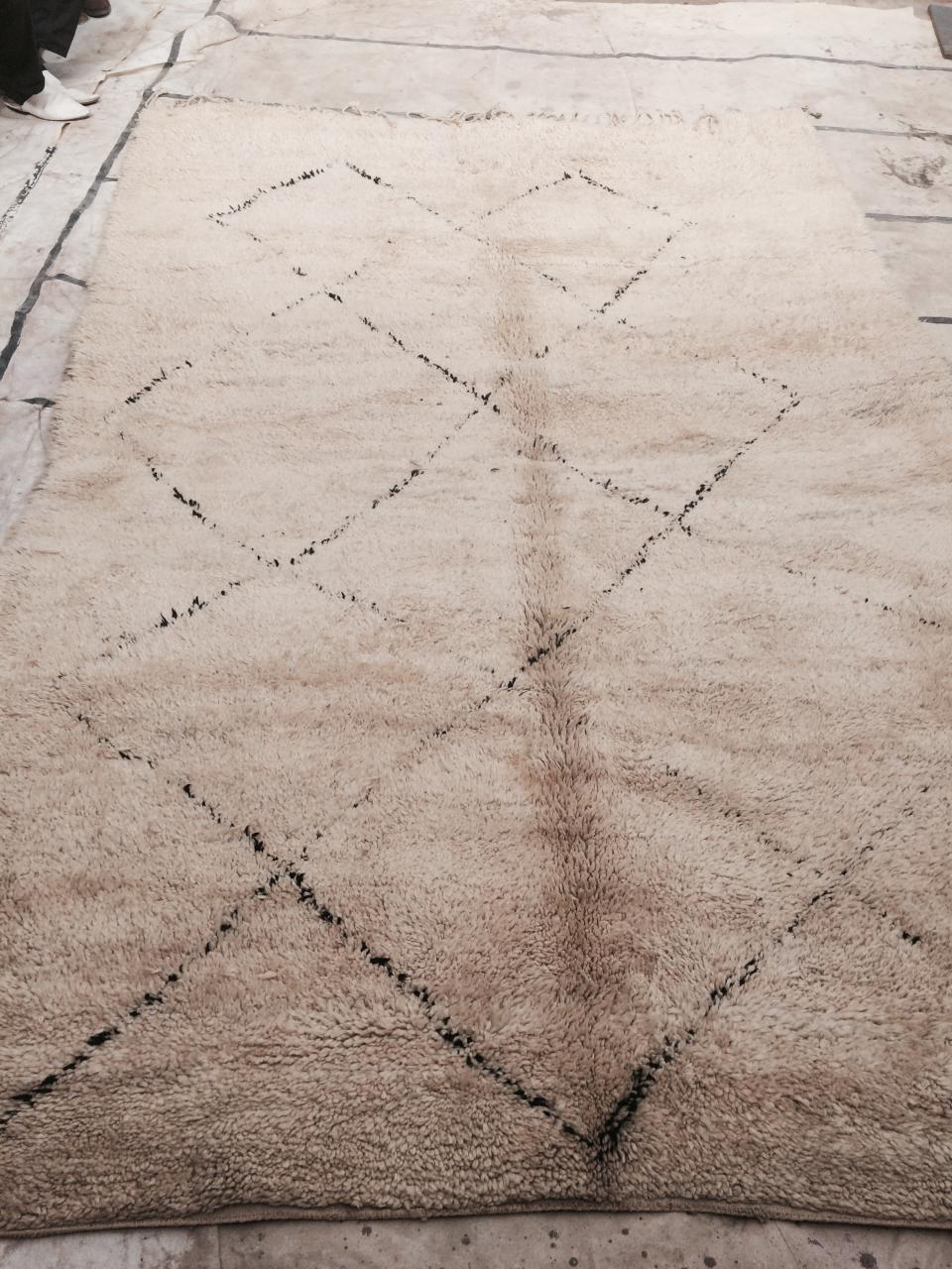 Merveilleux tapis de Béni Ouarain