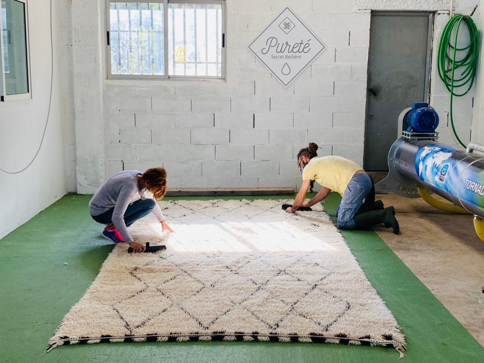 Atelier de lavage Secret Berbère en 2021