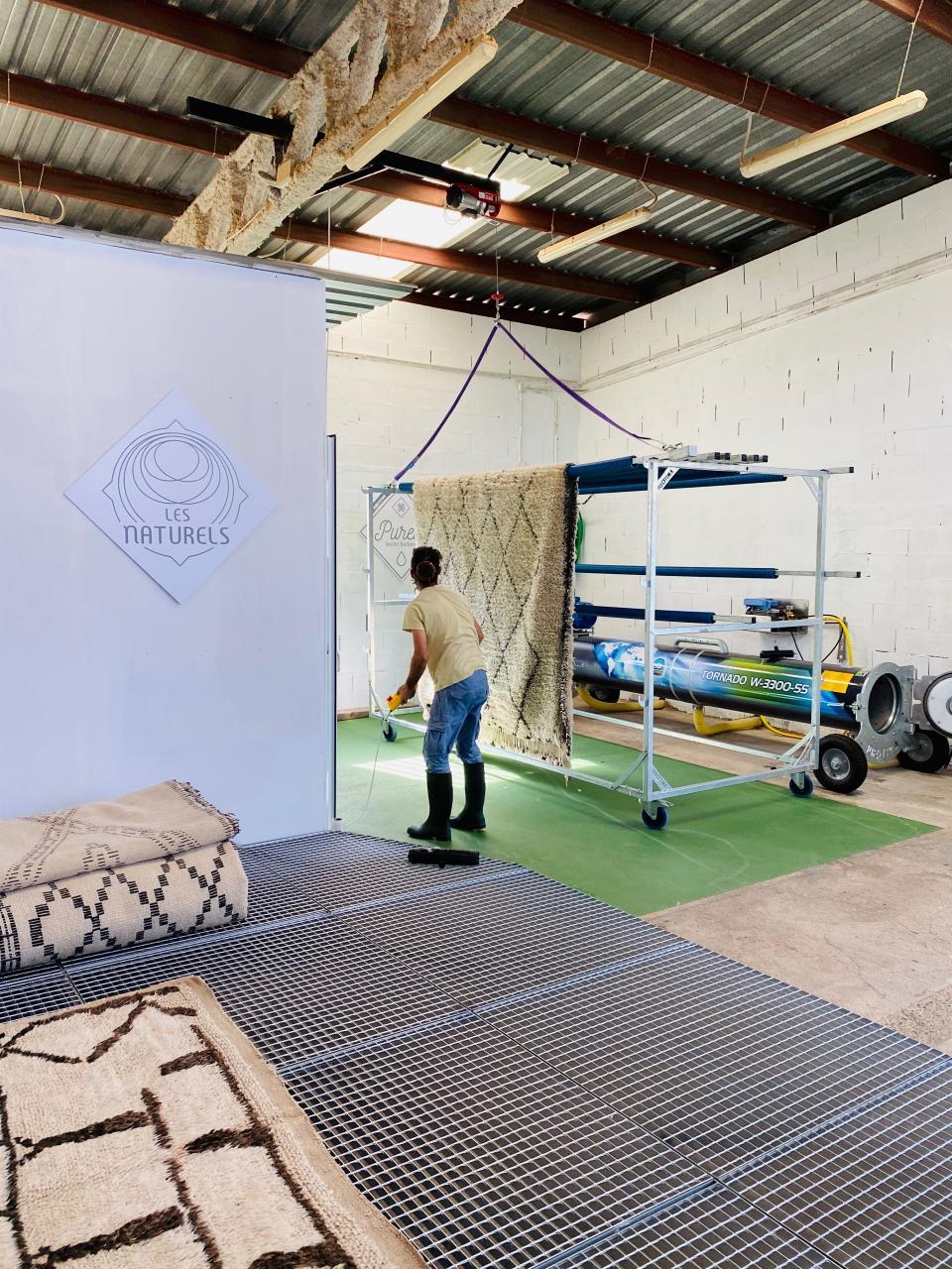 Atelier de lavage en 2021